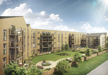 CGI of Princes Road, Chelmsford